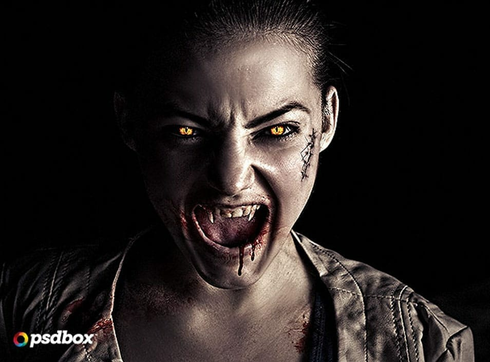 Vampire Effect in Photoshop – Advanced Tutorial