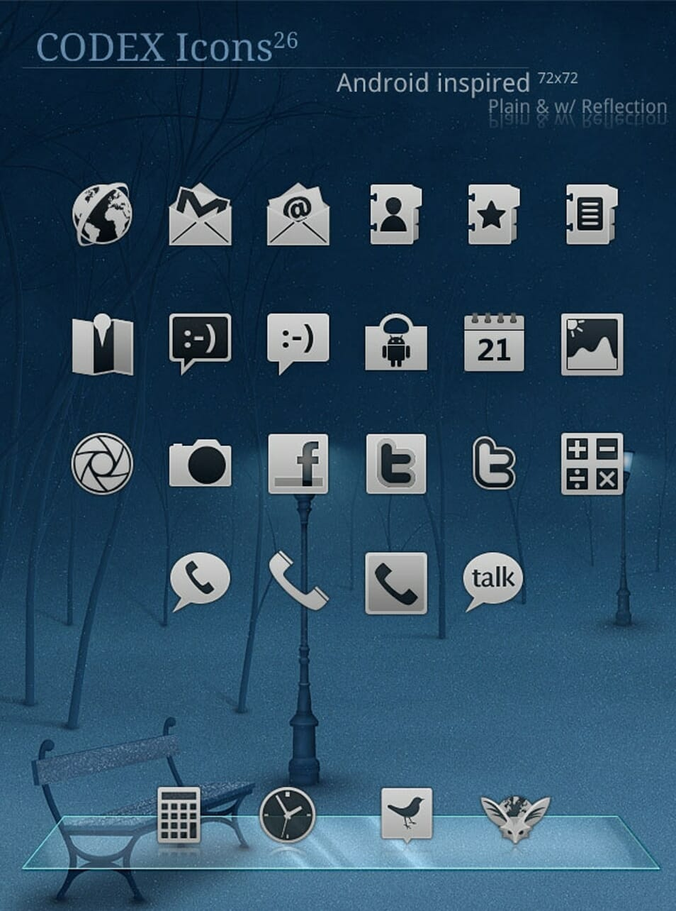 Codex Icons for Android