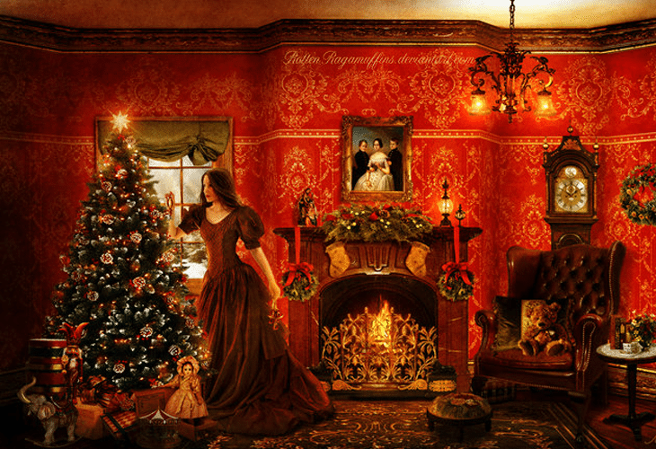 twas the night before christmas - Twas The Night Before Christmas Decorating Ideas