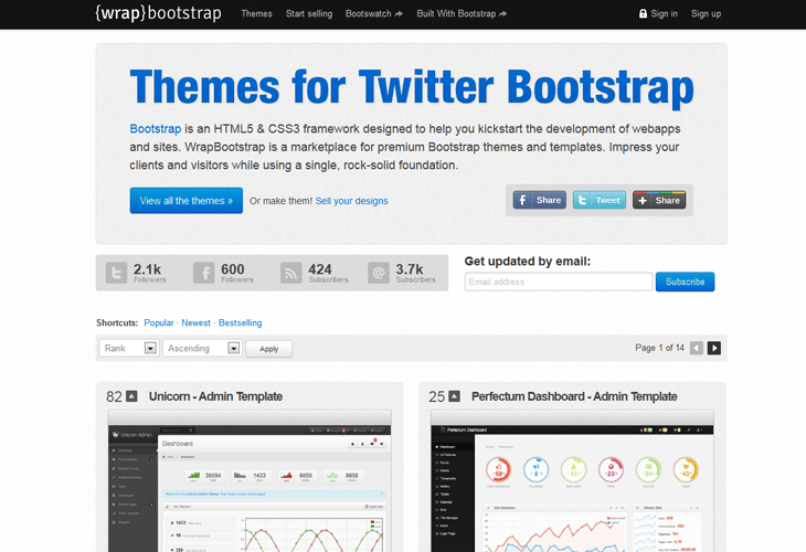 Wrap Bootstrap