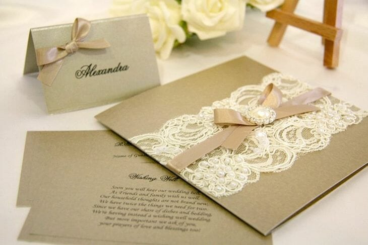 B Studio Wedding Invitations