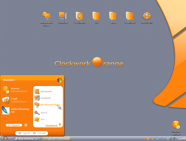 ClockWork Orange Gui Kit