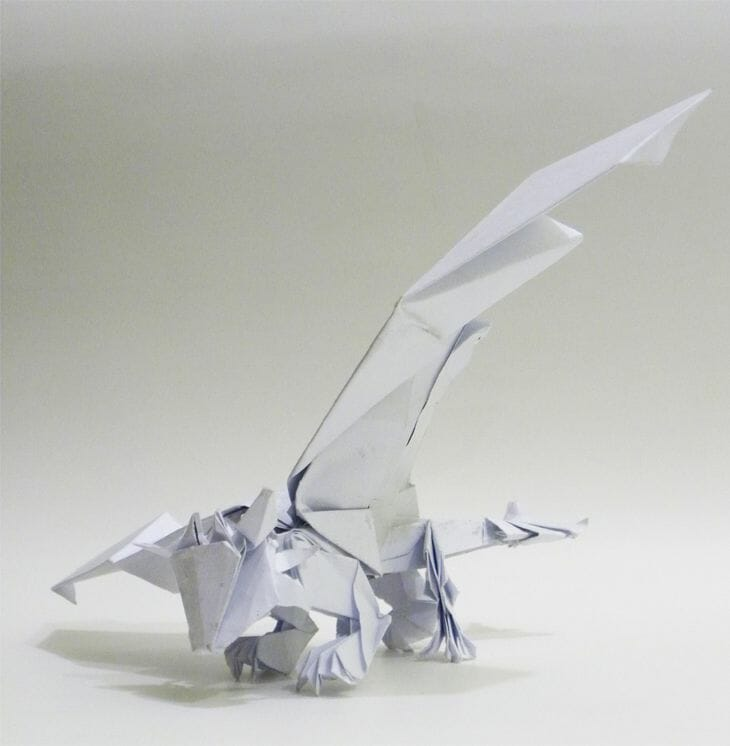 Origami Toothless