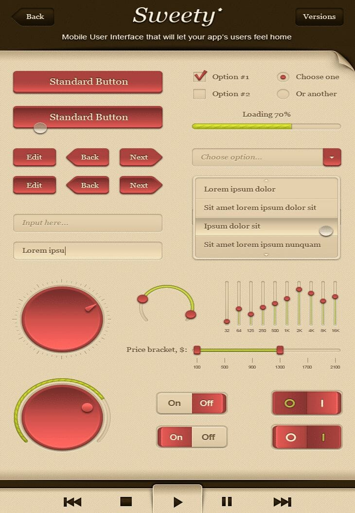 Sweety - GUI - Graphical User Interface
