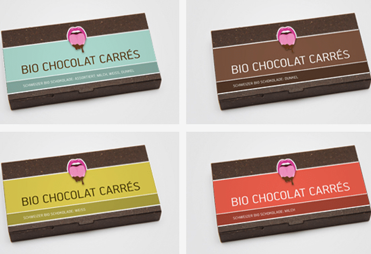 Bio Chocolat Packaging