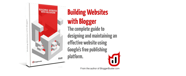 Building Websites with Blogger (eBook & Templates)
