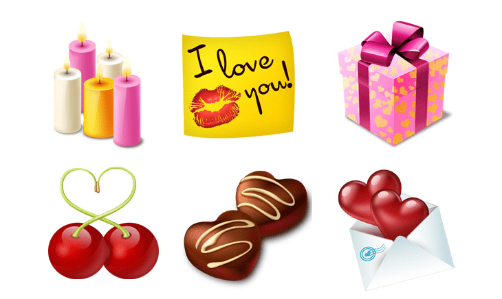15 Delicious Valentine S Day Icon Set For Inspiration