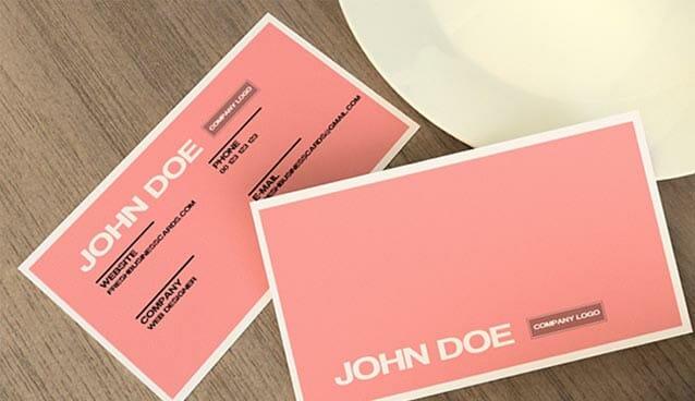 30 beautiful business card design templates colourmoves