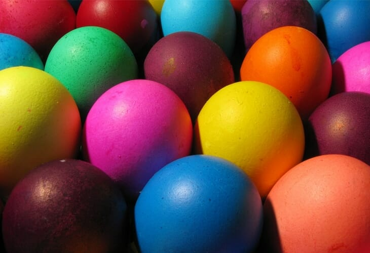 Easter Eggs Easter Wallpaper