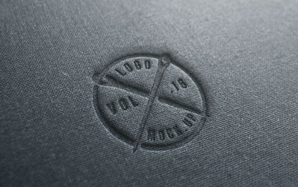Linen Logo Mock-Up Template