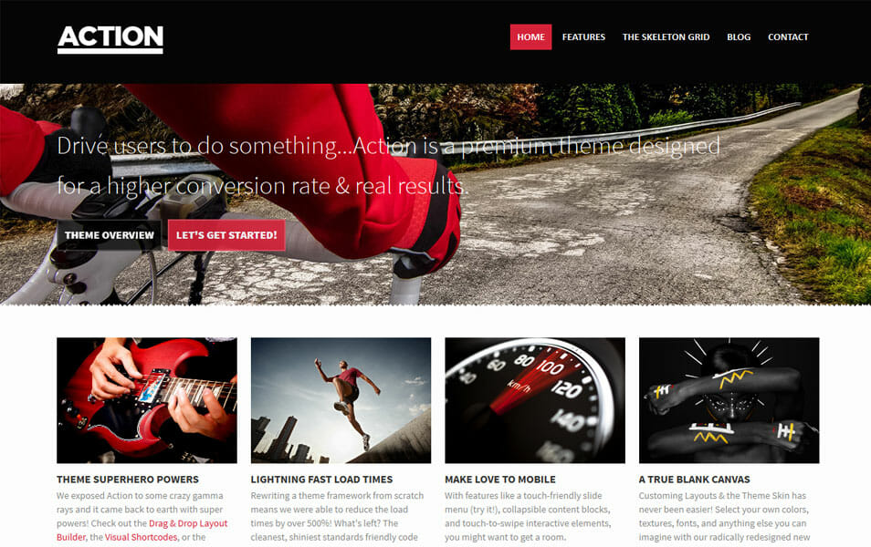 Action: A Multipurpose Business Theme