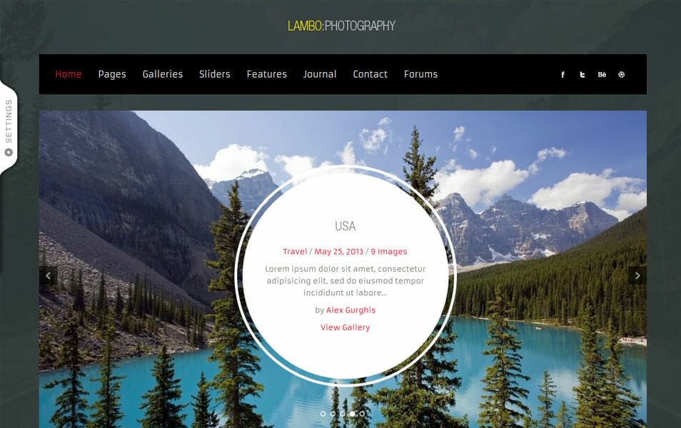 Lambo - Premium Photography Theme