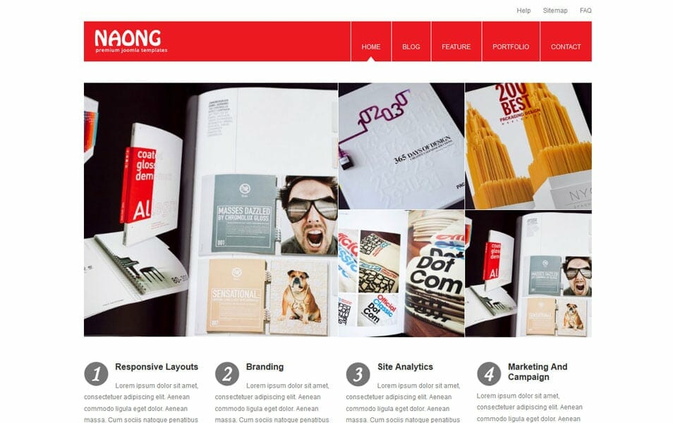 Naong - Premium Business WordPress Themes