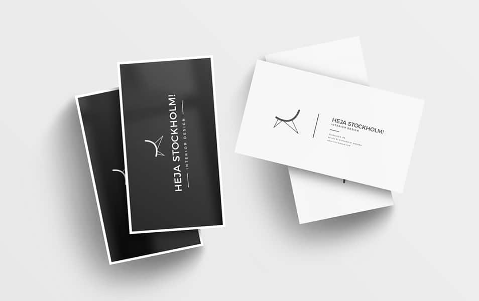 8 Free Clean Business Card Mockups PSD
