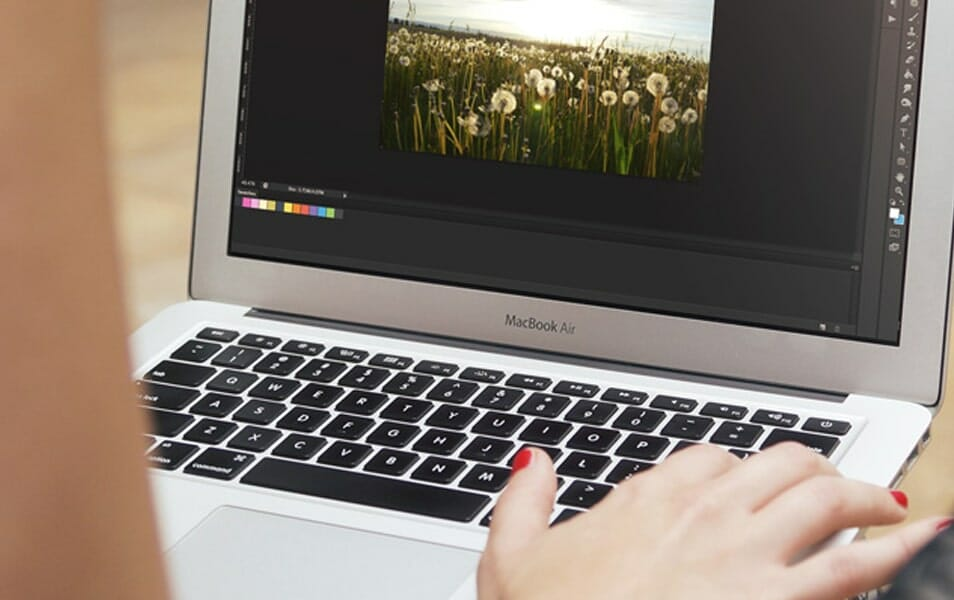 MacBook Air Mockup #5