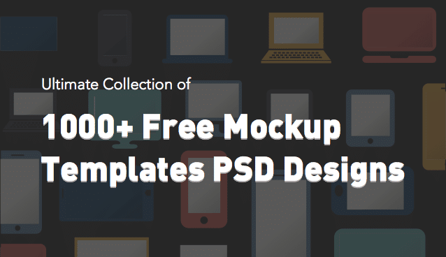 2000 free mockup templates psd designs css author