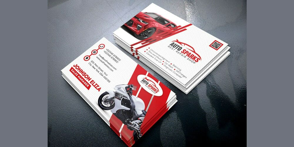 100 free business cards psd the best of free business cards auto repair business card template psd flashek Choice Image