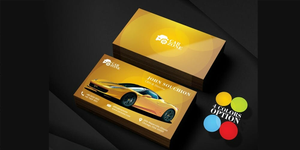 100 free business cards psd the best of free business cards automotive business card templates psd accmission Choice Image