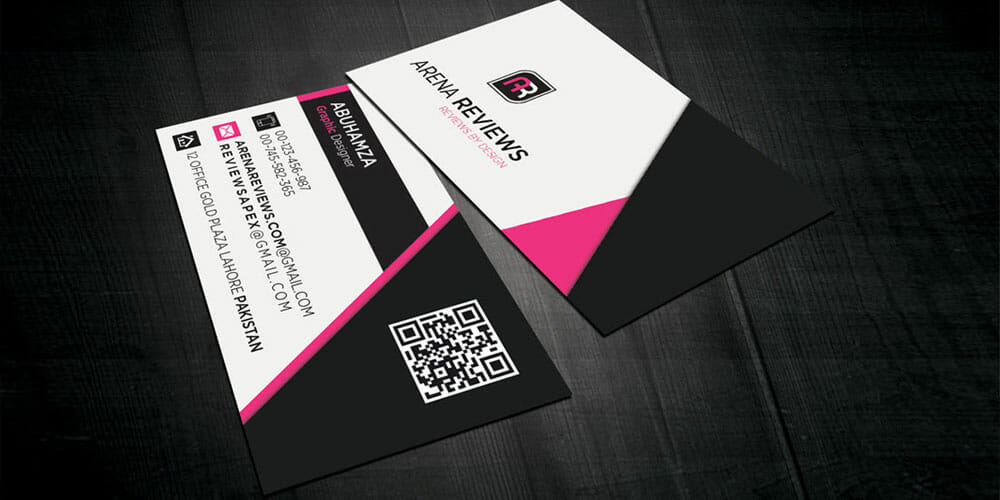 Black & White Corporate Minimalist Business Card