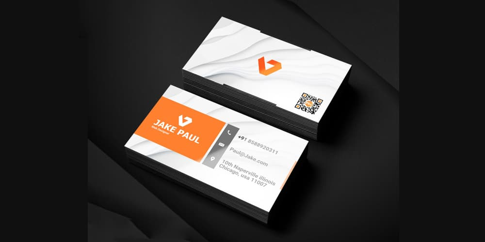 100 free business cards psd the best of free business cards business card psd template wajeb Gallery