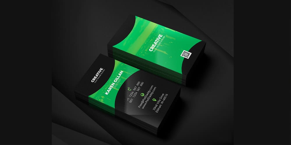 100 free business cards psd the best of free business cards business card template psd fbccfo Images