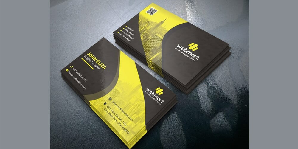 100 free business cards psd the best of free business cards business card template psd accmission Image collections