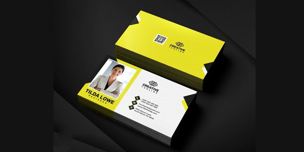 100 free business cards psd the best of free business cards business card templates psd fbccfo Image collections