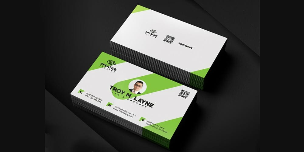 100 free business cards psd the best of free business cards business card template psd accmission Images