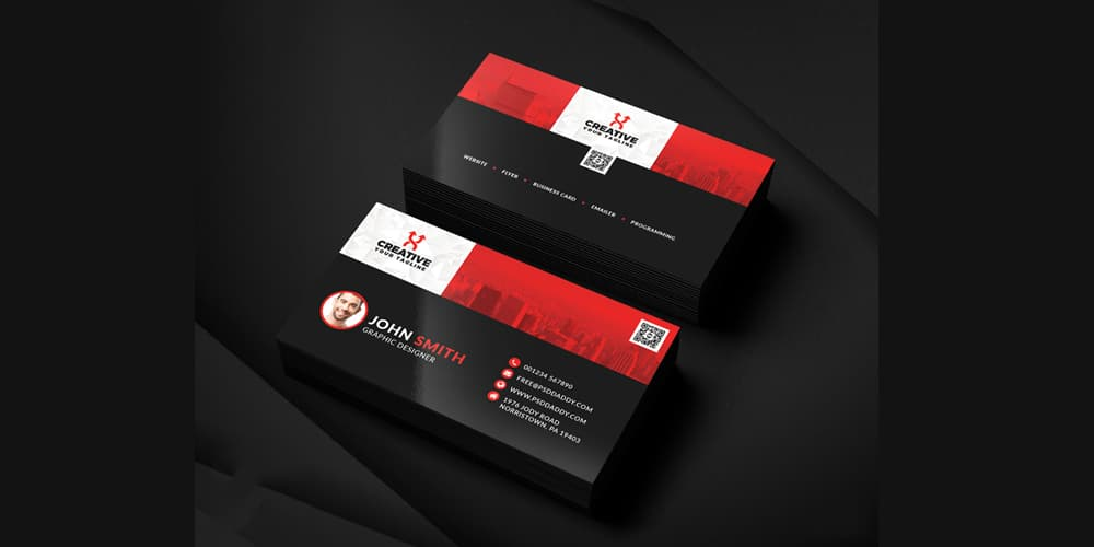 100 free business cards psd the best of free business cards clean business card templates psd accmission Images