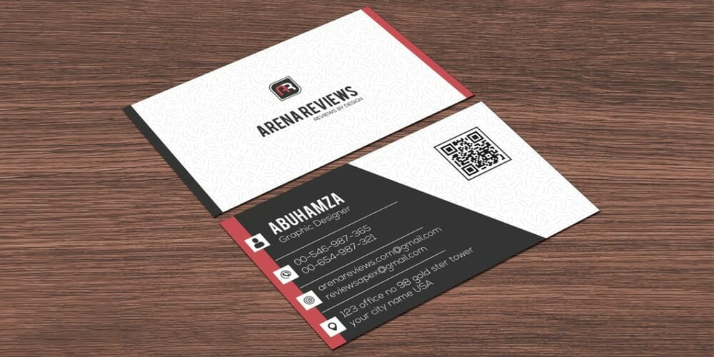 100 free business cards psd the best of free business cards clean white corporate modern business card template psd accmission Images
