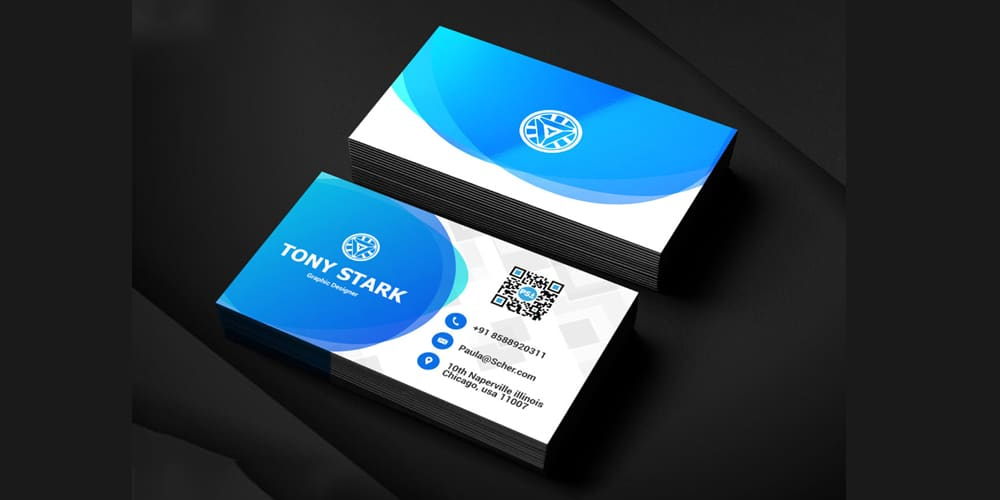 100 free business cards psd the best of free business cards corporate business card template psd cheaphphosting Gallery