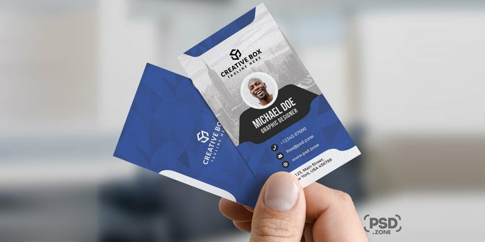 100 free business cards psd the best of free business cards corporate business card templates psd friedricerecipe Gallery