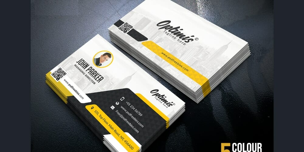 Creative Business Cards PSD