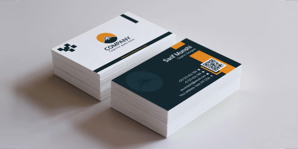 100 free business cards psd the best of free business cards creative modern business card template psd cheaphphosting Gallery