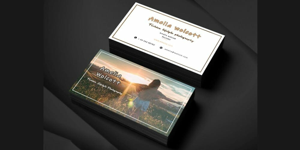 Founder business card PSD