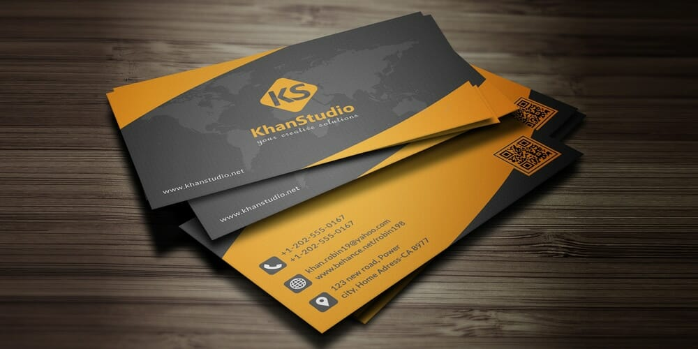 100 free business cards psd the best of free business cards free business card template psd accmission Image collections