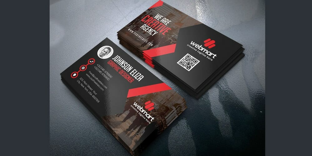 100 free business cards psd the best of free business cards free business card template psd flashek Choice Image