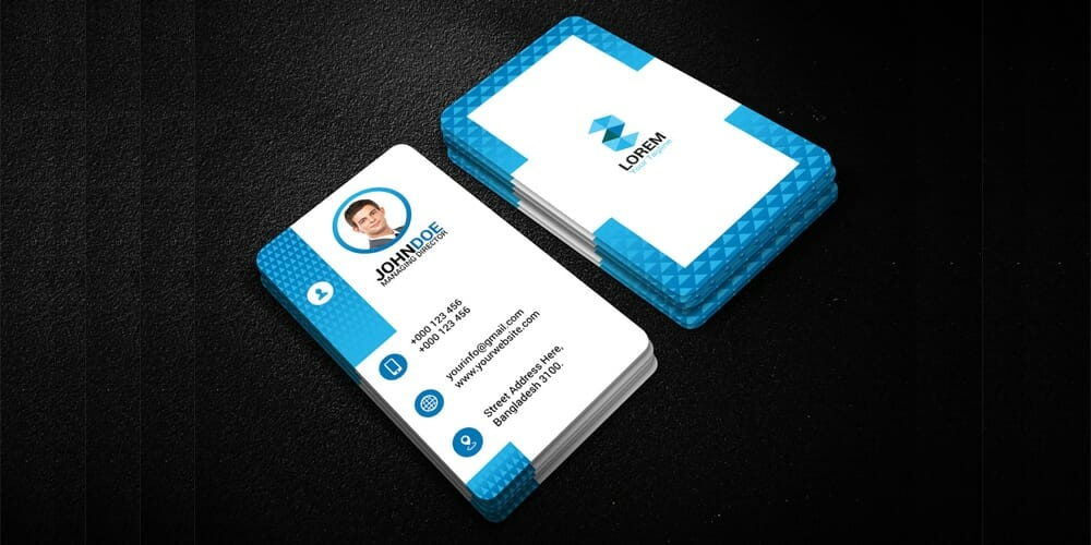 100 free business cards psd the best of free business cards free business card templates psd reheart Gallery