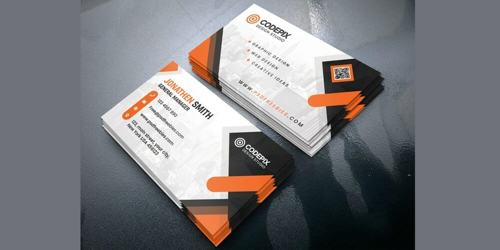100 free business cards psd the best of free business cards free business cards design templates psd fbccfo Choice Image