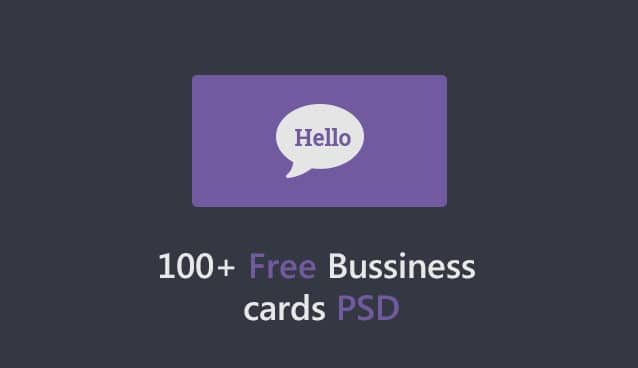 100 free business cards psd the best of free business cards flashek Gallery