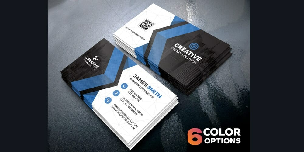 Free Business Cards Templates PSD