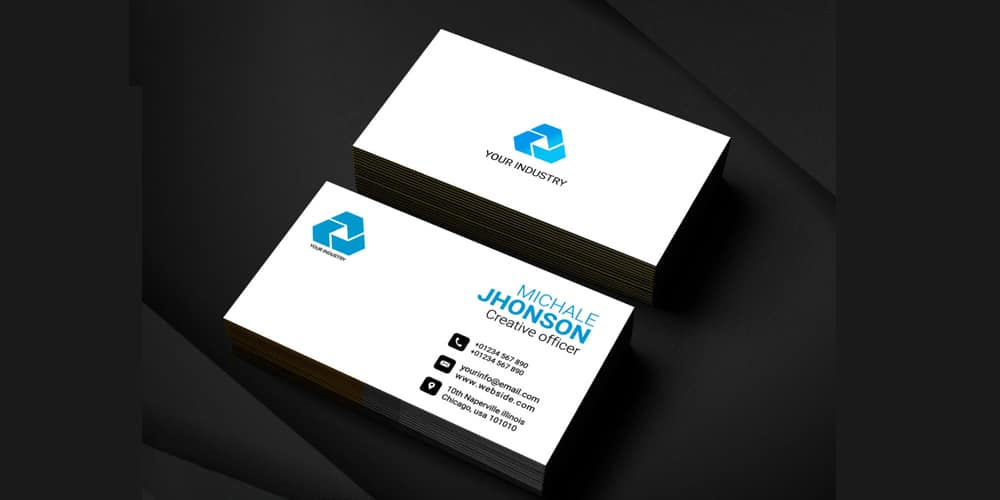 100 free business cards psd the best of free business cards free corporate business card template psd accmission Image collections