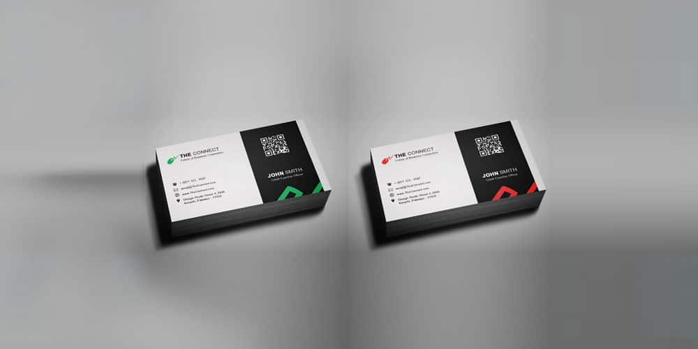 100 free business cards psd the best of free business cards free corporate business card template psd fbccfo Gallery