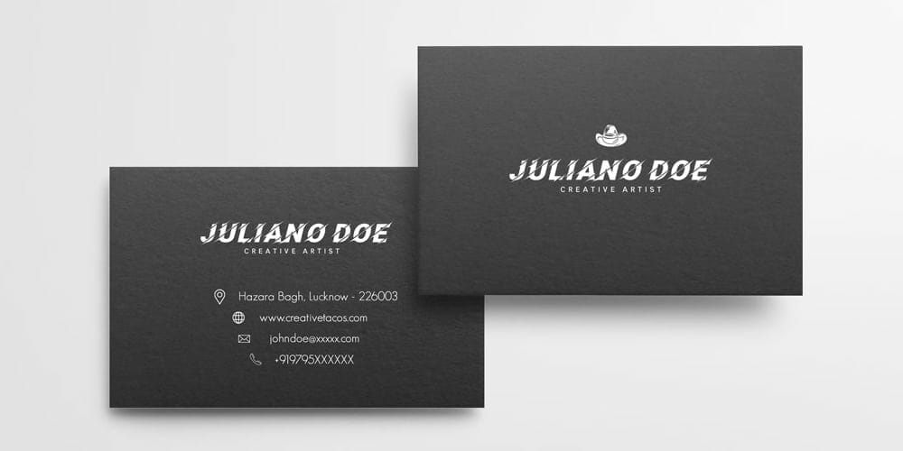 100 free business cards psd the best of free business cards free creative business card template psd reheart Choice Image