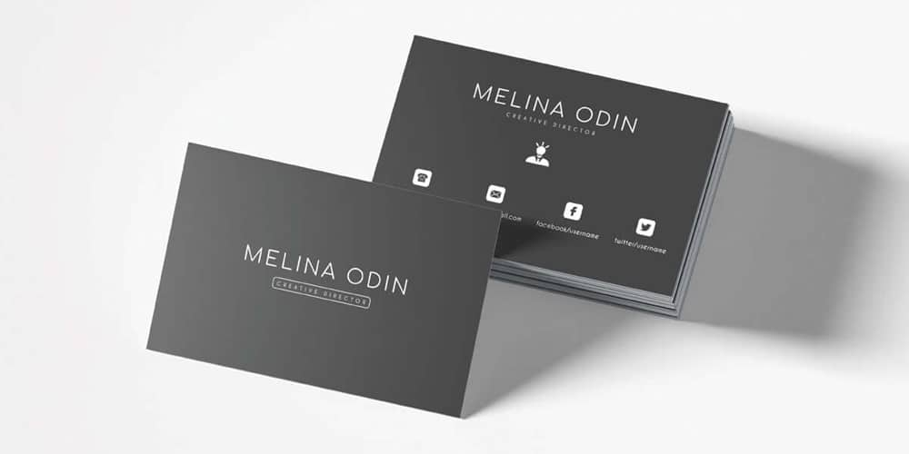 100 free business cards psd the best of free business cards free creative design business card template psd wajeb Choice Image