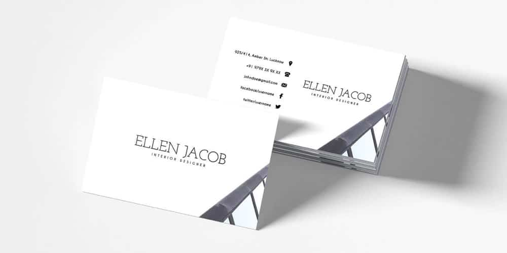 100 free business cards psd the best of free business cards free interior design business card template psd fbccfo Gallery