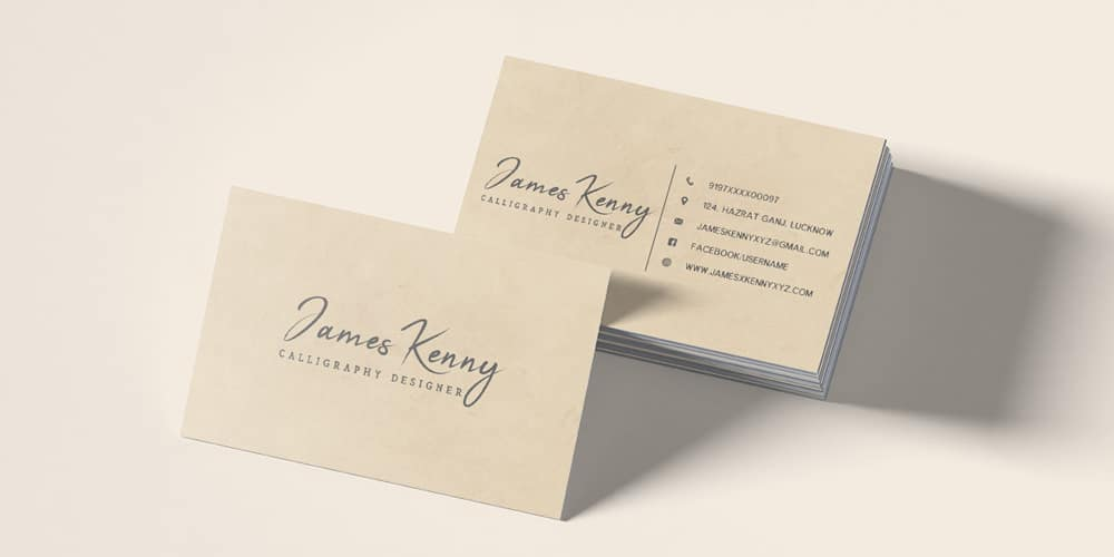 100 free business cards psd the best of free business cards free minimal designer business card template psd flashek Image collections