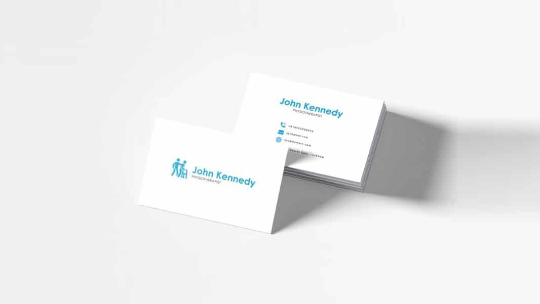 100 free business cards psd the best of free business cards free physiotherapy business card template psd accmission Images