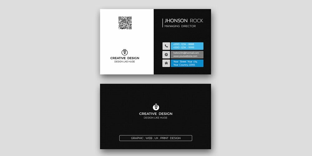 100 free business cards psd the best of free business cards free professional modern business card psd accmission Choice Image
