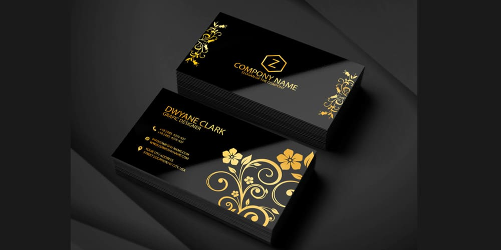 100 free business cards psd the best of free business cards graphic designer business card template psd accmission Images